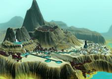 Simulation Die Sims 3 – Lunar Lakes: Kraterkolonie©Electronic Arts