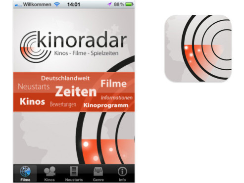 Kinoradar © fastline GmbH & Co. KG