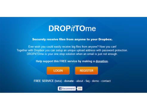 Screenshot DropItToMe ©DropItToMe