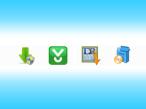 Symbole für verschiedene Download-Wrapper©Download.com, Softonic, Softonic/RegNow, TucowsDownloads