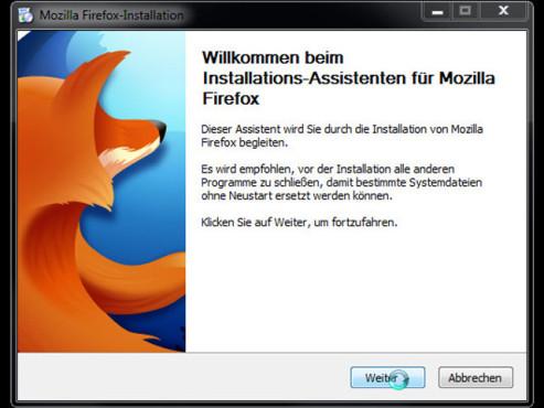 Firefox 10 ©COMPUTER BILD