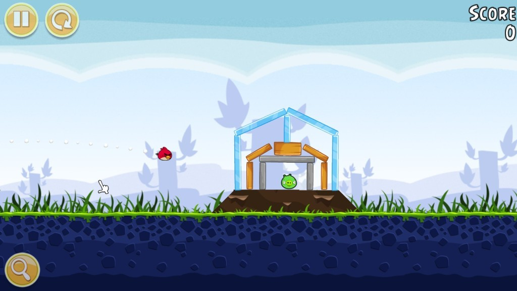 Screenshot 1 - Angry Birds