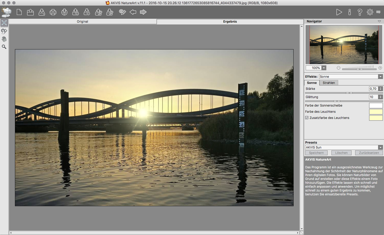 Screenshot 1 - NatureArt (Mac)
