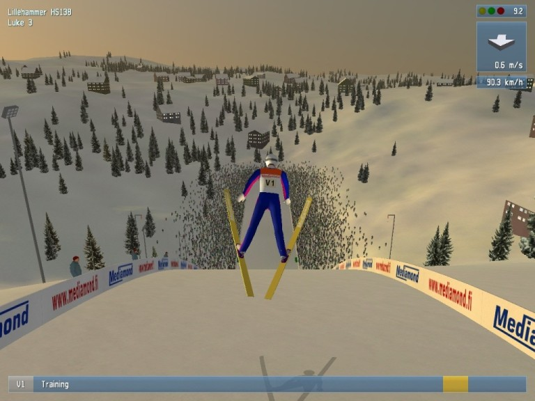 Screenshot 1 - Deluxe Ski Jump 4