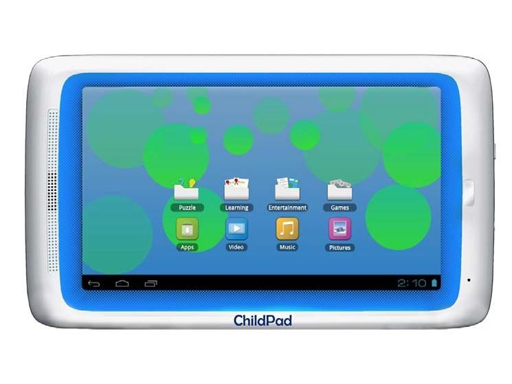 child pad archos stellt tablet pc f r kinder vor. Black Bedroom Furniture Sets. Home Design Ideas