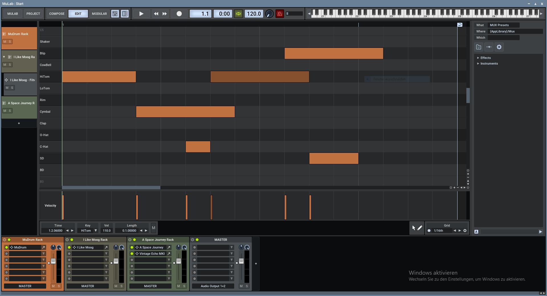 Screenshot 1 - MuLab Free