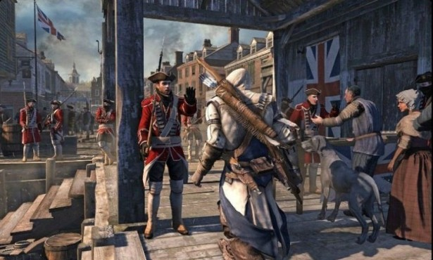 Actionspiel Assassin's Creed 3: Stadt © Ubisoft