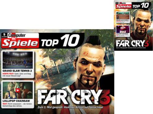 Computerbild Spiele Top 10 ©Axel Springer AG