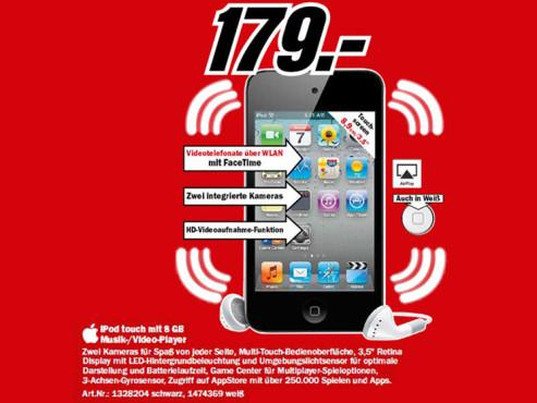 Apple iPod touch 5G 8GB ©Media Markt