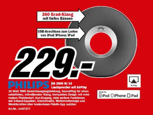 Philips Fidelio DS3800W ©Media Markt