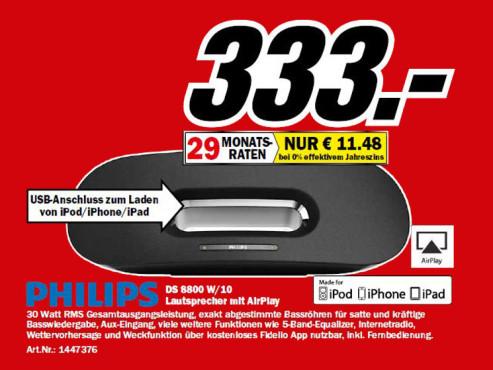 Philips Fidelio DS8800 W ©Media Markt