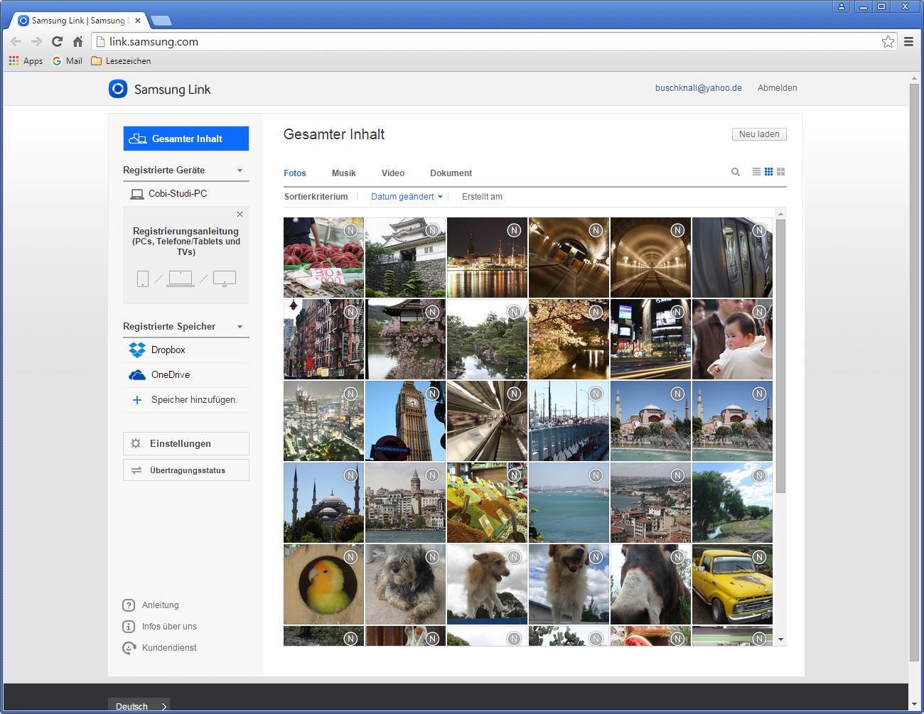 Screenshot 1 - Samsung Link