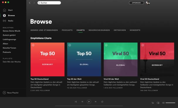 Screenshot 1 - Spotify (Mac)