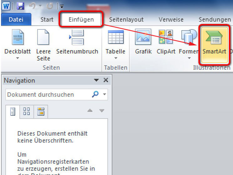 Schaubild In Word Erstellen Bilder Screenshots Computer