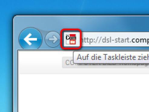 Schritt 1 ©Internet Explorer 9