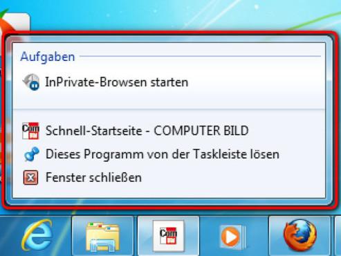 Schritt 4 ©Internet Explorer 9