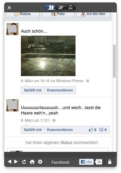Screenshot 1 - Social Lite (Mac)