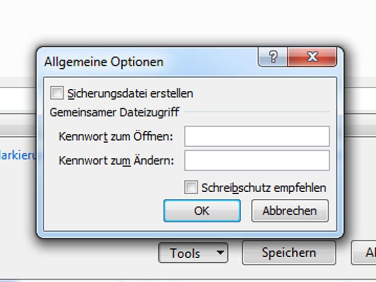 Excel-Datei mit Passwort schützen - Bilder, Screenshots - COMPUTER BILD