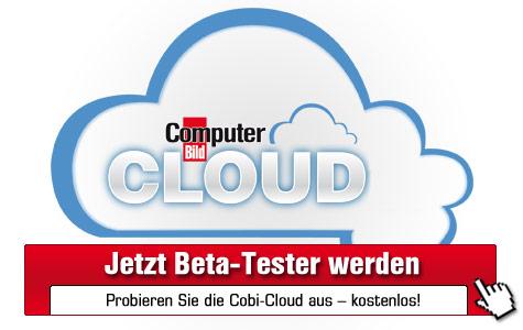 Beta Tester für COMPUTER BILD Cloud werden©COMPUTER BILD
