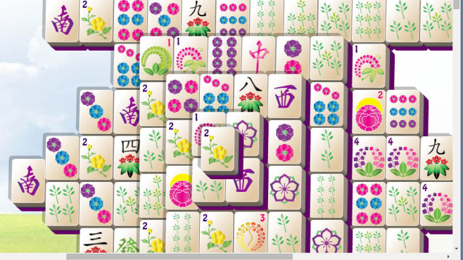 Frühlings-Mahjong ©COMPUTER BILD