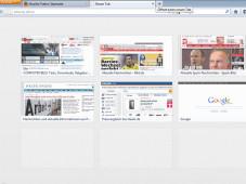 Firefox 13 Beta – Startseite©Mozilla