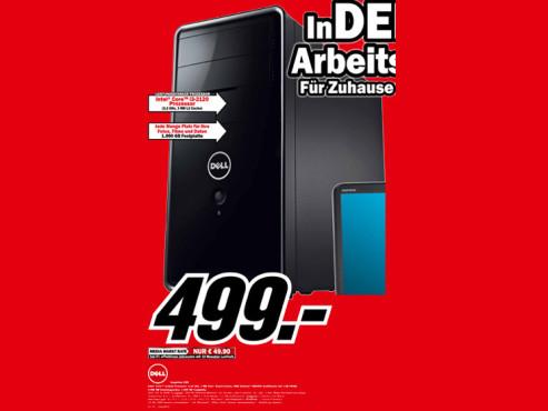 Dell Inspirion 620 ©Media Markt
