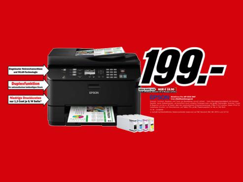 Epson WorkForce Pro WP-4535 DWF ©Media Markt