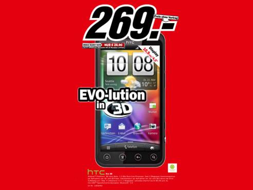 HTC Evo 3D ©Media Markt