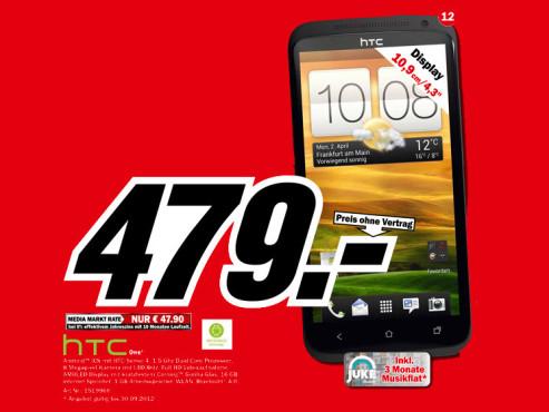 HTC One S ©Media Markt