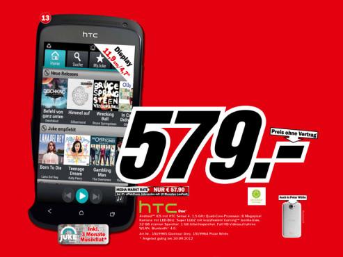 HTC One X ©Media Markt
