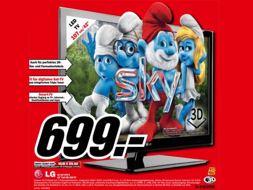 LG 42LW470S ©Media Markt