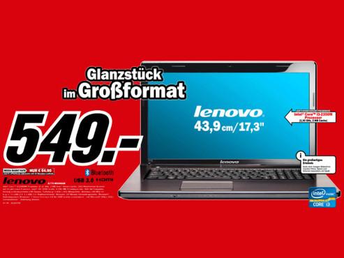 Lenovo G770-M539GGE ©Media Markt