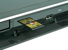 SD-Karten-Einschub Panasonic DMP-BDT220©COMPUTER BILD