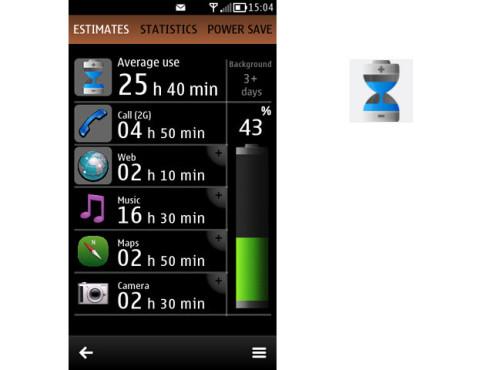 Nokia Battery Monitor 3.0 ©Nokia