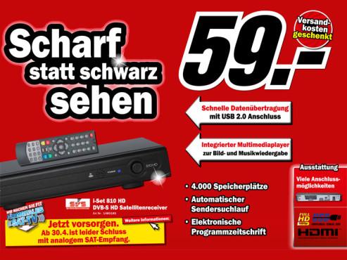 SVS i-Set 810 HD ©Media Markt