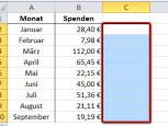 Schritt 2©Microsoft Excel 2010