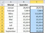Schritt 3©Microsoft Excel 2010