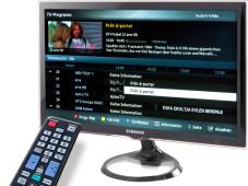 Monitor mit TV-Empfang©COMPUTER BILD