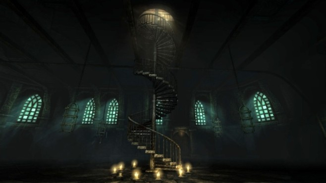 Abenteuerspiel Amnesia – The Dark Descent: Treppe © Frictional Games
