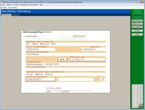 Beschriftungs-Software für Überweisung und Lastschrift