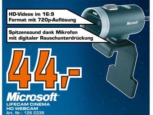 Microsoft LifeCam Cinema ©Saturn
