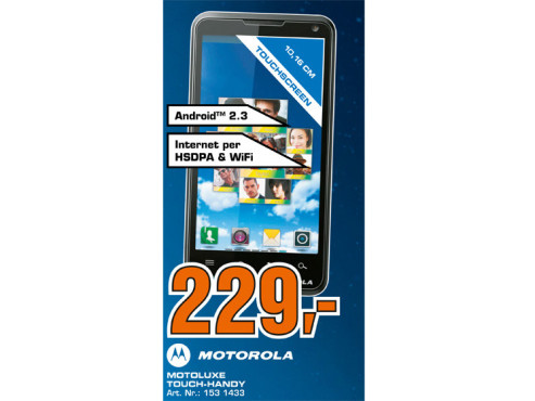 Motorola Motoluxe ©Saturn