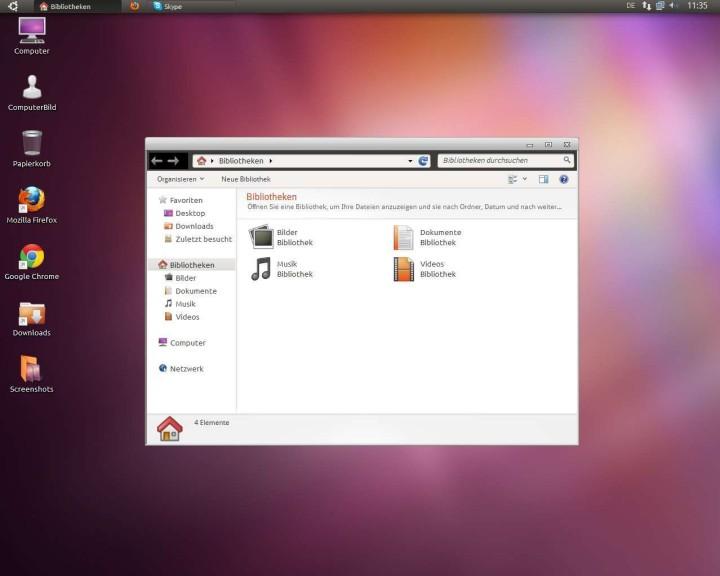 Ubuntu anmeldebildschirm hintergrund
