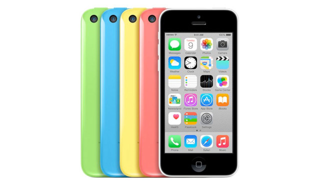 2013: iPhone 5C © Apple