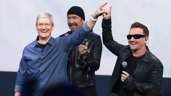 2014: U2 - Songs of Silence © Apple
