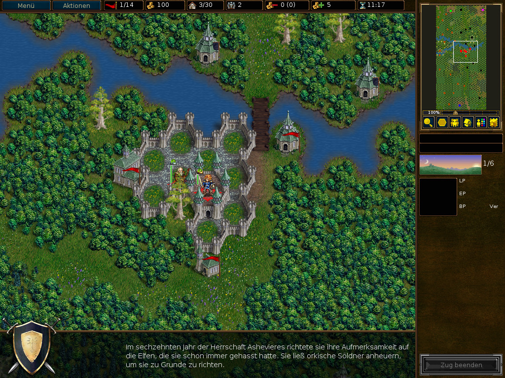 Screenshot 1 - The Battle for Wesnoth Portable