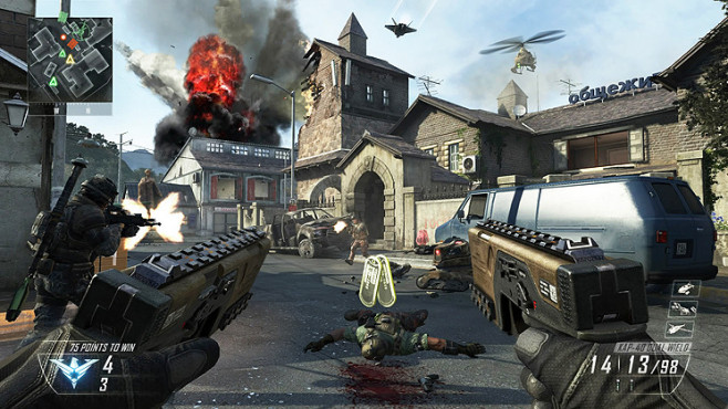 Actionspiel Call of Duty – Black Ops 2: Beretta ©Activision Blizzard