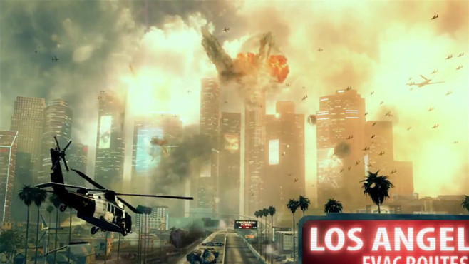 Actionspiel Call of Duty – Black Ops 2: Los Angeles ©Activision