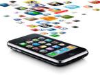 iPhone mit App-Symbolen©Apple