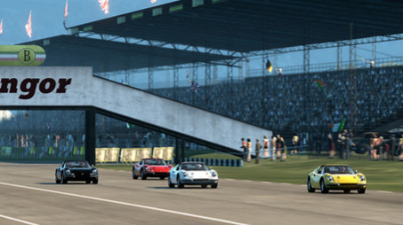 Rennspiel Test Drive – Ferrari Racing Legends: Tribüne © Bigben Interactive